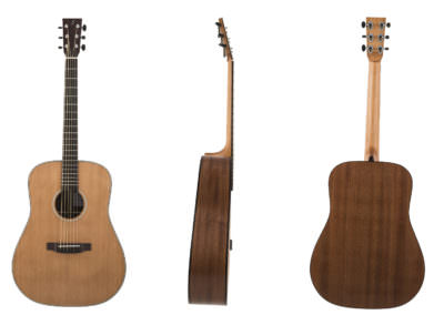Guitare Dreadnought Acajou